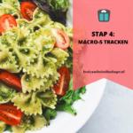 Stap 4: macro's tracken