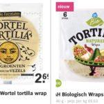 Eetwissel – tortilla wrap –