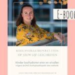 E-book 'Koolhydraatbeperkt eten: op jouw lijf geschreven'